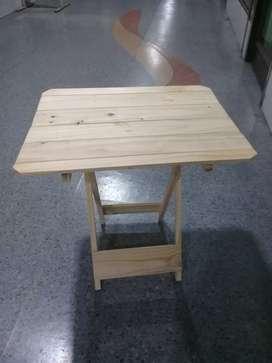 Mesa de pino matera plegable