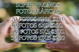¡SUPER OFERTAS! IMPRESIONES FOTOGRÁFICAS