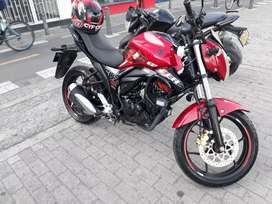 Suzuki gixxer,