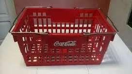 Canastos para compra Coca Cola (4 unidades) Precio por unidad.