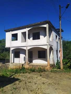 Vendo Casa en construcción con terreno