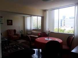 ID142415 Alquilo Departamento Amoblado, Cerca Av Larco con Vista Exterior