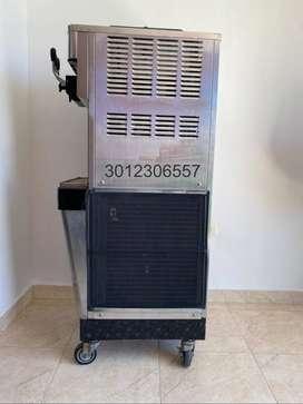Ventus Máquina De Helado Suave Comercial 2200w 3 Sabores