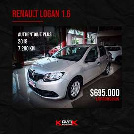 RENAULT LOGAN AUTHENTIQUE PLUS 2018