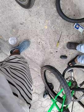 Arreglos de bicicletas