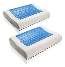 Combo: 2 Almohadas gel ortopédica memoria Energy Plus