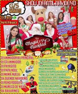 Show Infantil navideño empresas e instituciones Tumbes