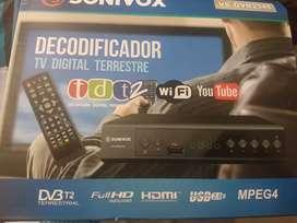 Decodificador tv digital sencillo