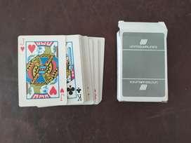antiguo juego de cartas united airlines
