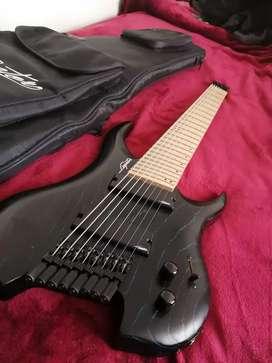 Guitarra legator ghost 8 cuerdas