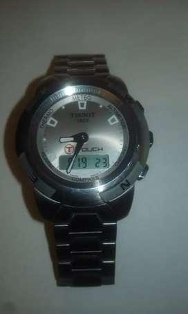 Reloj tissot touch en acero 1A