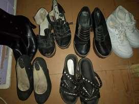 Combo 5 calzados femeninos precio por lote o 300 cada uno