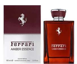 Perfume Ferrari Amber Essence 100ml Hombre Eros
