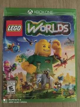 Vendo película Lego worlds original