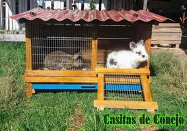 Jaula Casita de Conejo