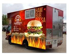 Food Truck - camion de comidas.