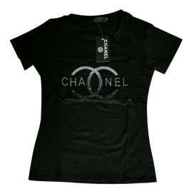 Camiseta Dama Con Pedrería