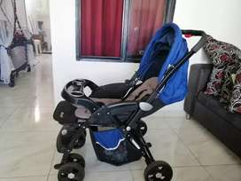 Coche para bebé usado