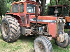 Massey ferguson tractor 1195 mod 85