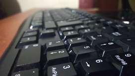 Teclado y Mouse para escritorio