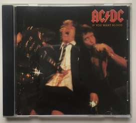 Ac/dc If You Want Blood Cd Importado ACDC