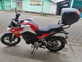 Espectacular moto en venta