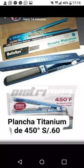 Plancha titanium