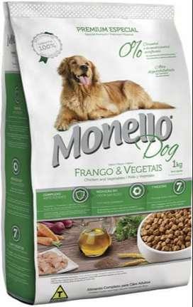 Alimento Monello para Perros y Gatos. Ringo Premium y Croquetas