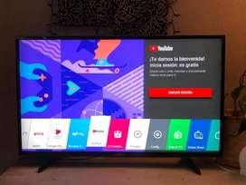 Tv smart Lg d 43 p