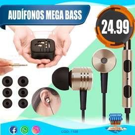 Audífonos Mega Bass