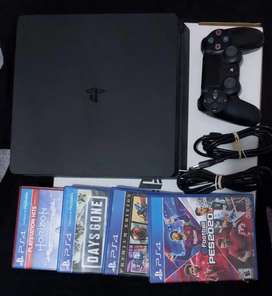 SE VENDE PS4 SLIN 1 TB
