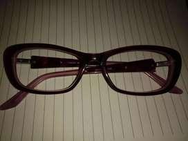 Anteojos color bordó violeta
