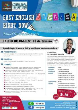 EASY ENGLISH RIGHT NOW