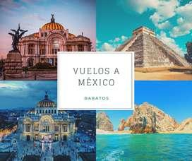 Tours y vuelos a México