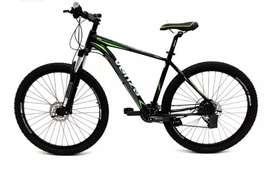 Bicicleta NUEVA Venzo 10 v Frenos hidráulicos SHIMANO DEORE