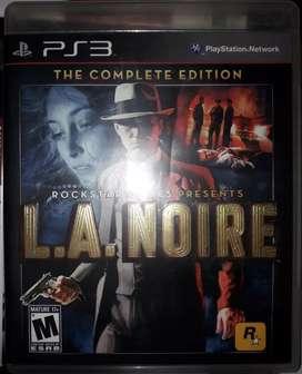 L.A Noire Edicion Completa