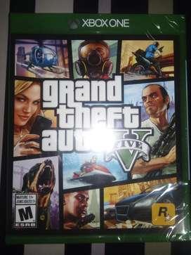 Gta5 Xbox One Nuevo Sellado