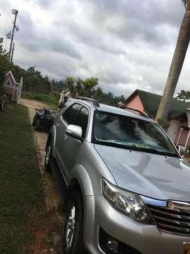 Vendo Toyota Fortuner 2014