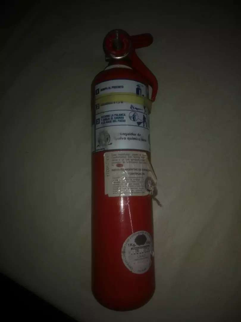 Vendo Matafuegos Extintor de Incendio 0