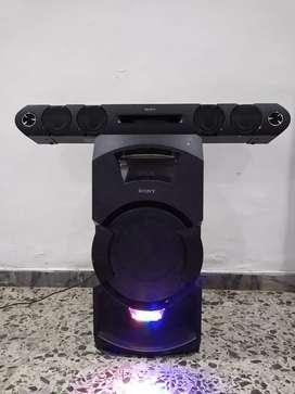 Equipo de sonido Sony MHC-GT3D con Bluetooth