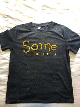 Hermosa camiseta  some timees
