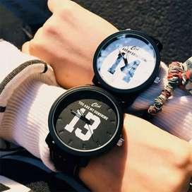 relojes pareja reloj ilusion of time ref 20 cuero analogo