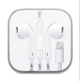 Auriculares Iphone con cable y ficha lightning
