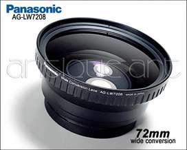 A64 Lente Panasonic Ø72 Wide Conversion Ag-lw7208 Pro Video