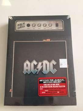 CD1+CD2+DVD AC/DC IMPORTADO EMPAQUE ORIGINAL