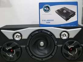 Caja Acustica Sonido para Carro Potente