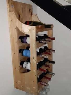 Soporte para vinos