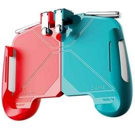 Control Game Pad Ak-16 Con Soporte Para El Celular Gatillos