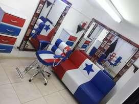 Muebles barbería