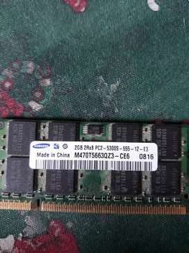 Memoria Ram 2GB DDR2 / PC2